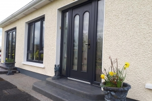 Bonmahon Joinery's Composite Door has all the advantages of reinforced fibreglass, including strength and security while maintaining a unique woodgrain finish.