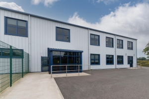 Commercial Aluminium Windows & Doors - Manufactured and Fitted by Bonmahon Joinery Ltd.