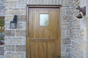 Timber Front Doors - Manufactured and Fitted by Bonmahon Joinery Ltd.